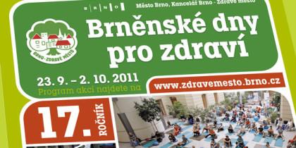 Brněnské dny pro zdraví posedmnácté