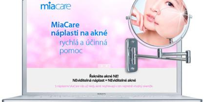 MiaCare – Řekněte NE akné!